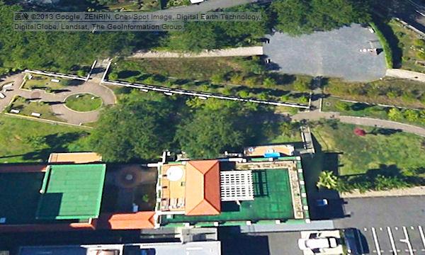 保育園航空写真